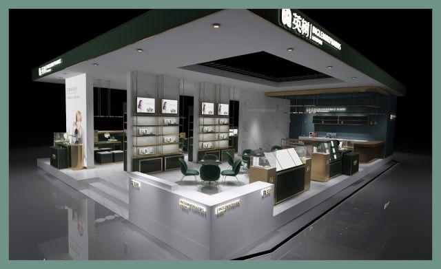 中国国际美博会丨英树视觉形象全面升级!惊艳场馆你心动了吗?